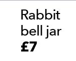 Rabbit bell jar