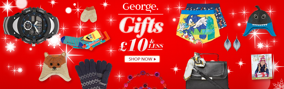 George Gift Shop - gifts for £10 or Less