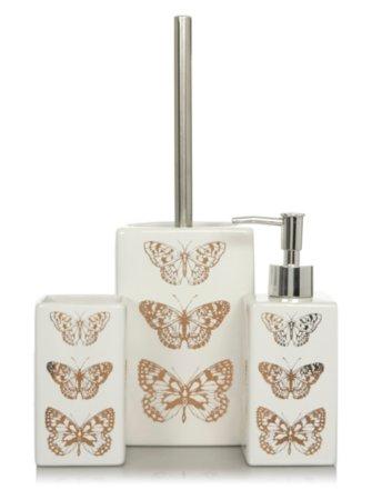 Butterfly Bath Accessories Range