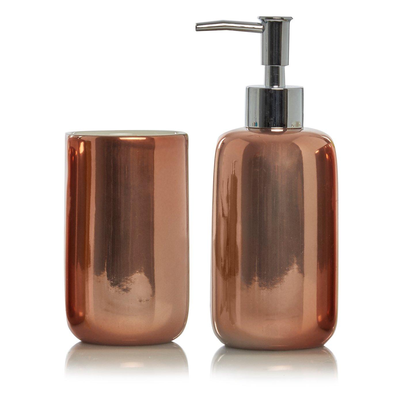 Cheap purple bathroom accessories - Copper Bath Accessories Range