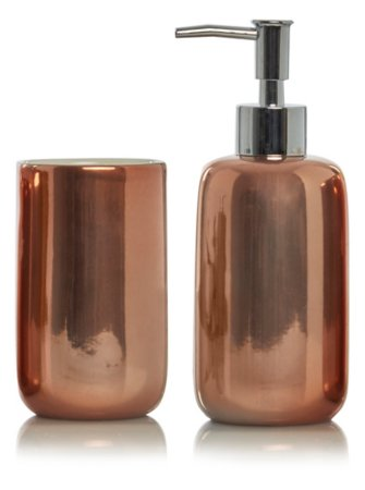George Home Copper Bath Accessories Range