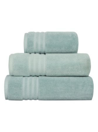 Luxury by George Home 100% Pima Cotton Towel Range - Duck Egg