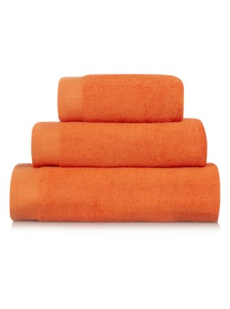 George Home 100% Cotton Towel Range - Orange