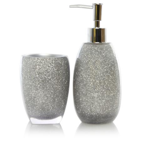 Sparkle bathroom accessories