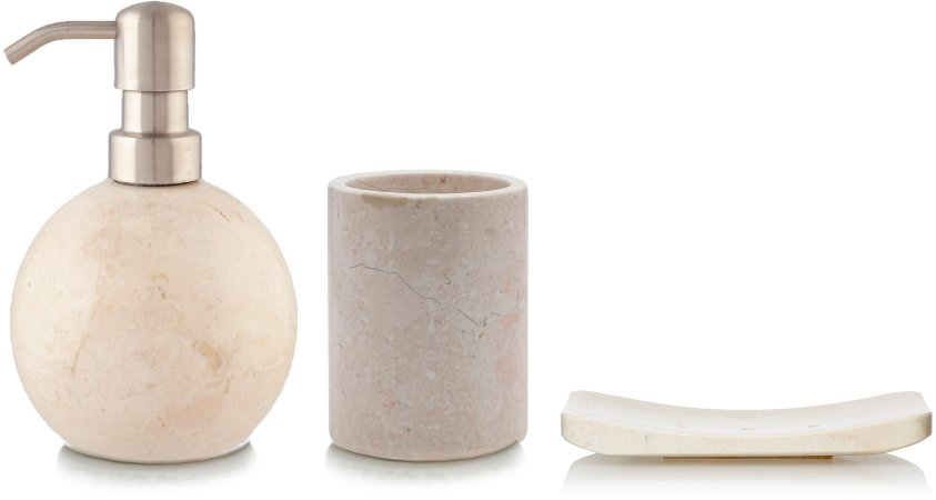Luxury by George Home Marble Bath Accessories Range