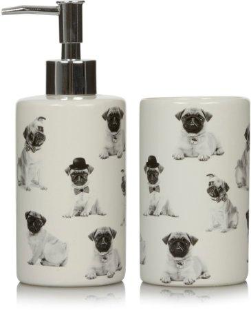 George Home Pug Bath Accessories Range