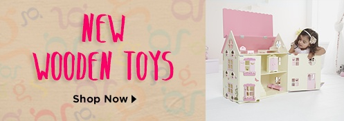Shop The New George Wooden Toys Range
