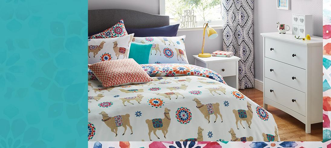 View our range of fun and quirky Bohemian Bright homewares to shake up your interior