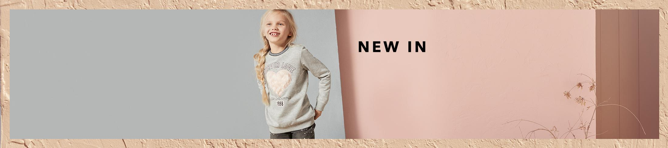 Kit them out with new girls' arrivals at George.com