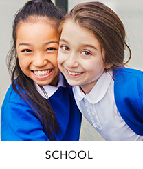 Kit them out for school with our smart range of uniform for girls' and boys' at George.com