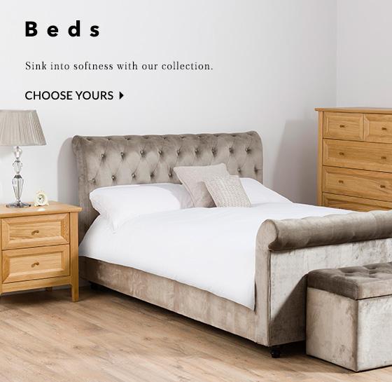 Find a great range of beds at George com. Bedroom furniture   George com