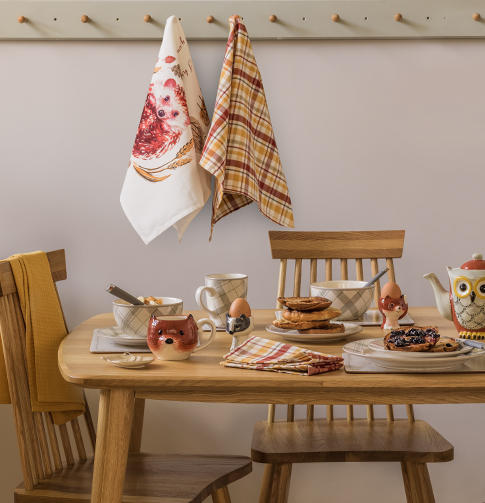 Be inspired by some fabulous home accessories from Woodshed, exclusive to George.com