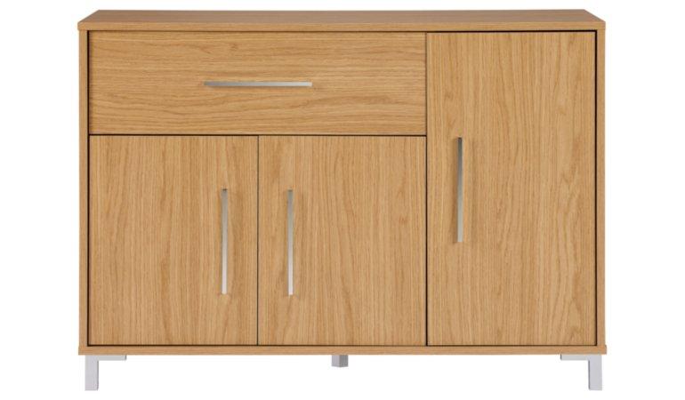 George Home Kaitlin Living Room Furniture Range - Oak Effect