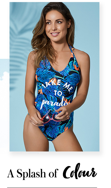 Brighten up your beach look with the latest swimwear at George.com