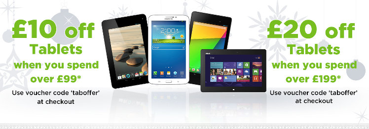 Shop Tablet Offer