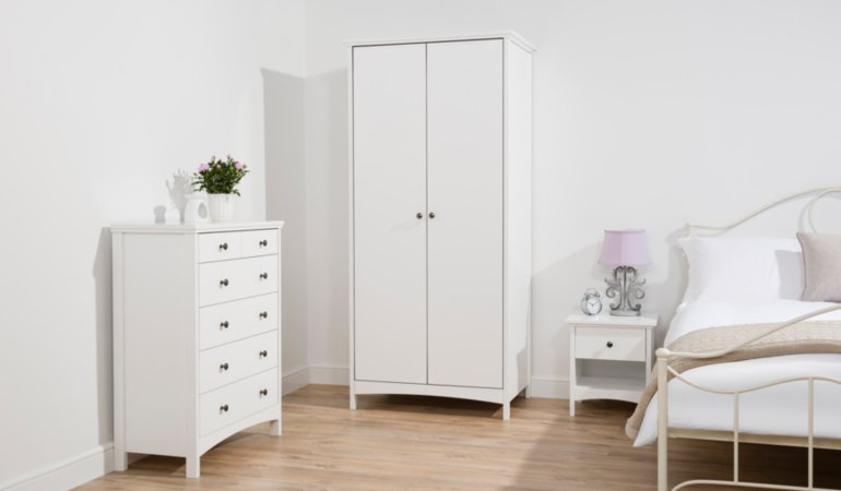 George Home Tamsin Bedroom Furniture Range - White