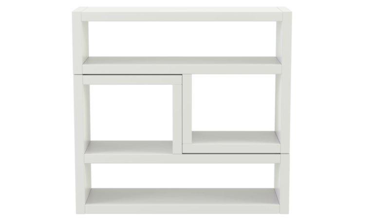George Home Leighton Living Room Furniture Range - White