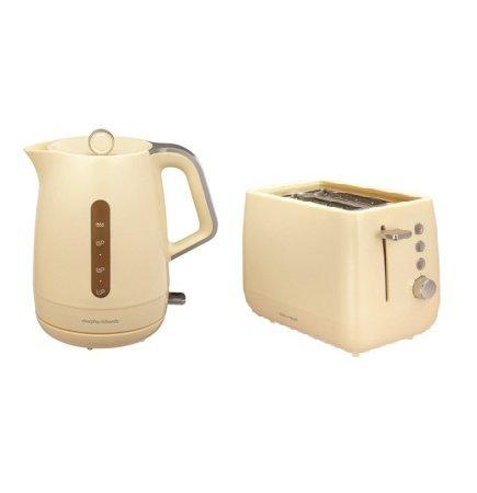 Morphy Richards Chroma Kettle & Toaster Range - Cream