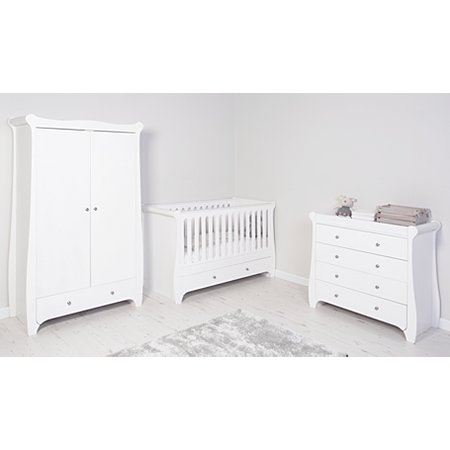 George Home Jessica Nursery Furniture Range - White | Nursery ...