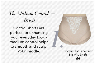 Shop women's control briefs and control pants now from George at Asda