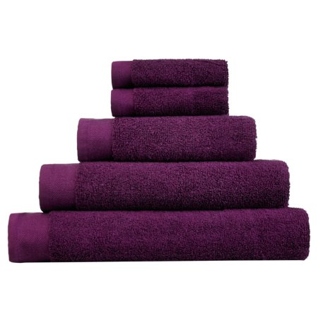 George Home Towel and Bath Mat  Range - Plum