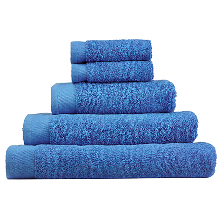 George Home Towel And Bath Mat Range Royal Blue Towels Bath Mats