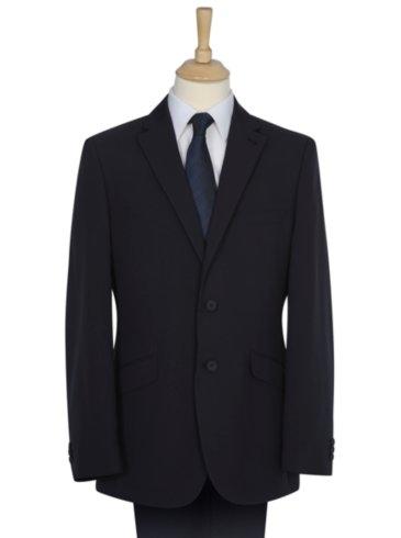 Navy Regular Fit Woven Suit