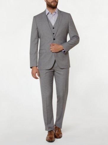 Tailor & Cutter Slim Fit Suit - Grey