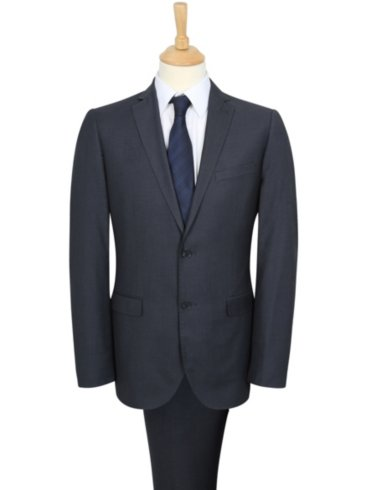 Tailor and Cutter Slim Fit Suit - Charcoal