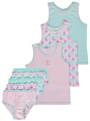 Peppa Pig Assorted Vests & Briefs