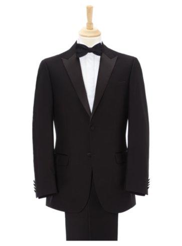 Regular Fit Tuxedo Suit