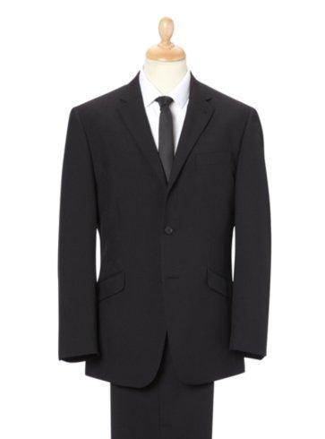 Regular Black Formal Suit