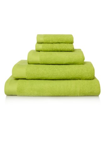 100% Cotton Towel Range - Lime Punch