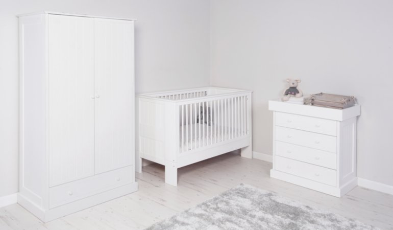 George Home Finley Nursery Furniture Range - White
