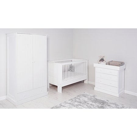 George Home Finley Nursery Furniture Range White Nursery Furniture Ranges George At Asda