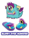 Stompeez Blinky Eyed Monster - Children's Slippers main view