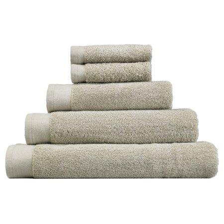 George Home Cotton Towel Range - Stone