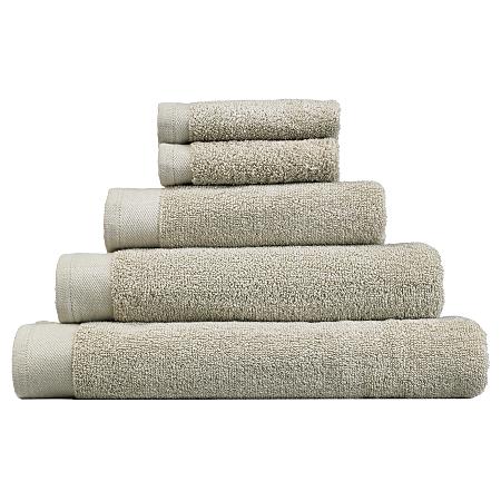 george home cotton towel range stone towels bath. Black Bedroom Furniture Sets. Home Design Ideas