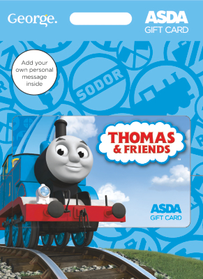 Thomas Tank Gift Card  30 pound