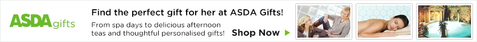 Asda Personal Gift Experiences for