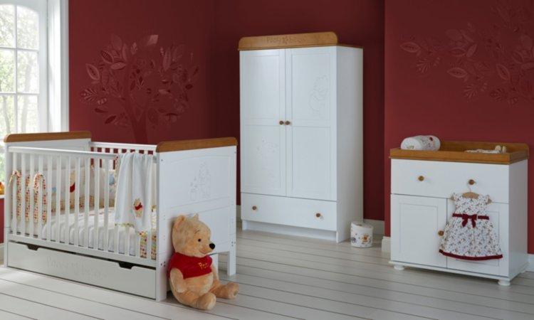 Disney Winnie The Pooh Nursery Range - White