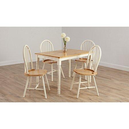 George Home Yvette Dining Furniture Range Oak Effect And