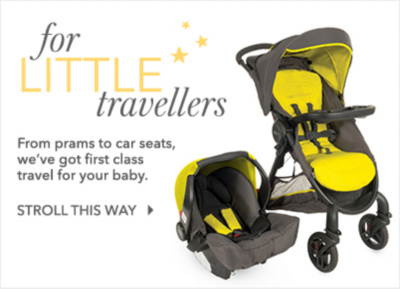 Shop baby travel essentials at George.com