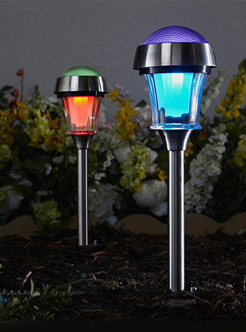 Get your garden in the mood for summer with outdoor lighting at George.com
