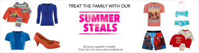 Summer Steals - Next Day Delivery Available