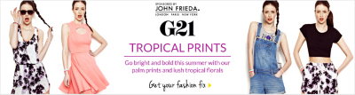 G21 - Tropical Prints