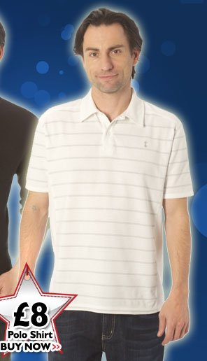 Polo Shirt £8 - Buy Now