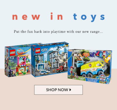 Learn and play with our latest game sets and toys at George.com