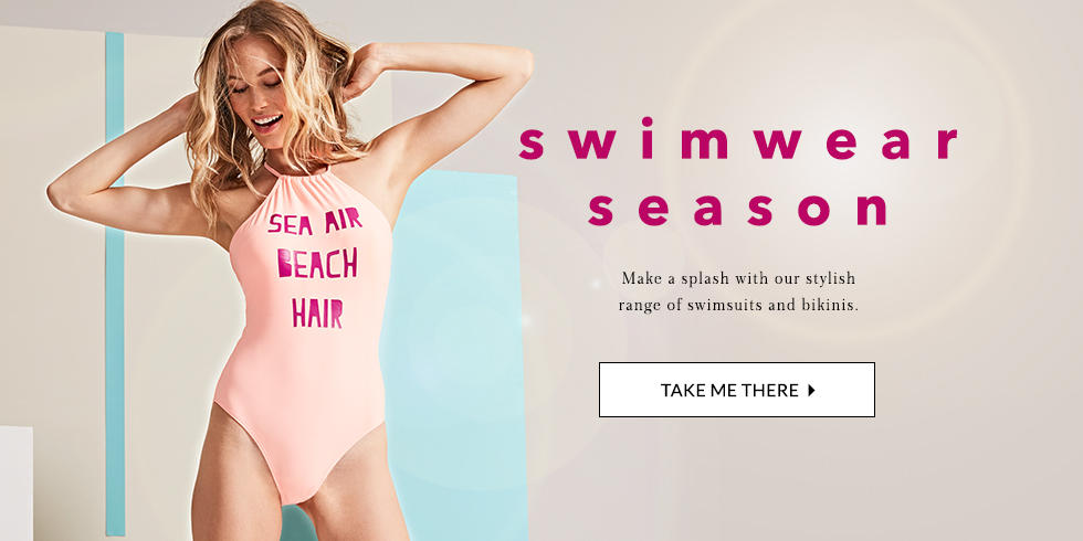 Look stylish from the pool to the beach with our gorgeous swimwear at George.com