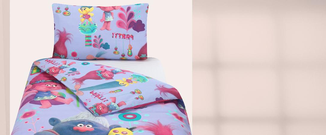 Add a whirl of character to their bed space with our range of kids' bedding at George.com